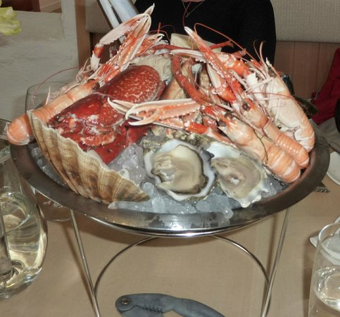 Cairndow Oyster Bar & Restaurant: Seafood Platter