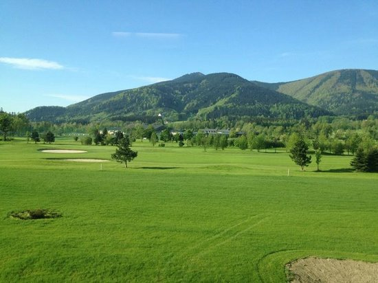 Miura Hotel: Aussicht auf den Golfplatz