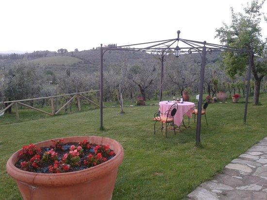 Casa con Bella Vista: Il giardino della casa