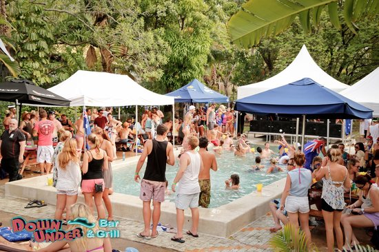 Down Under Bar and Grill: OZ Day Pool Party