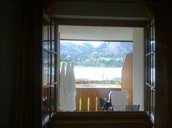 Hostellerie am Schwarzsee : Vista desde habitación