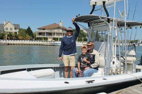 Charleston Fishfinder Charters: captain Ben Floyd