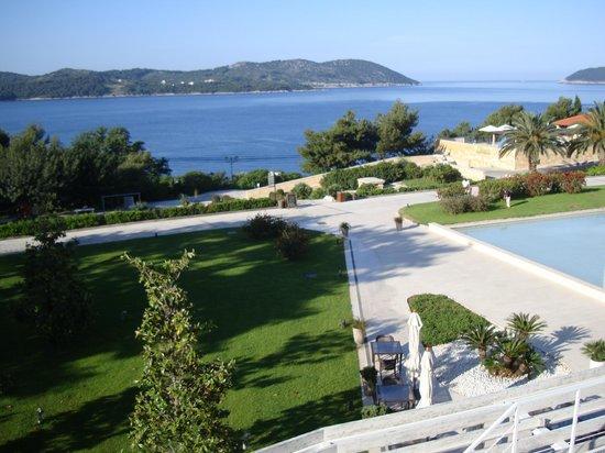 Sun Gardens Dubrovnik: Blick vom Balkon zum Meer