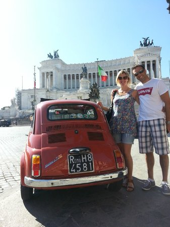 Dearoma Tours: On tour with Valerio and his red rocket