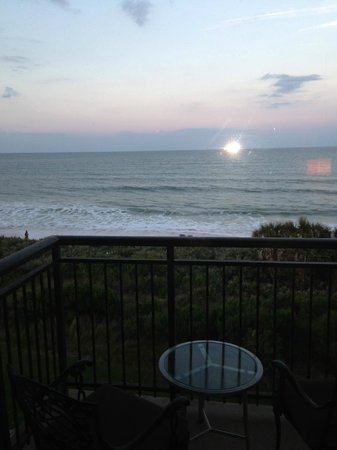 The Lodge at Hammock Beach: view from room