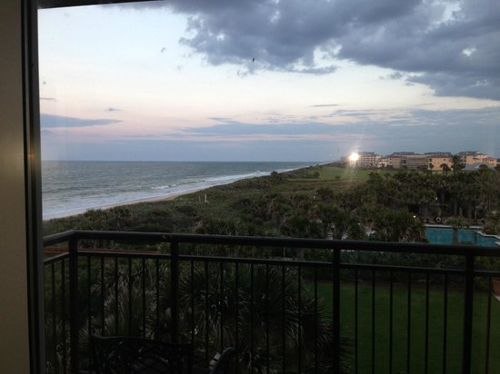 The Lodge at Hammock Beach: view from corner room