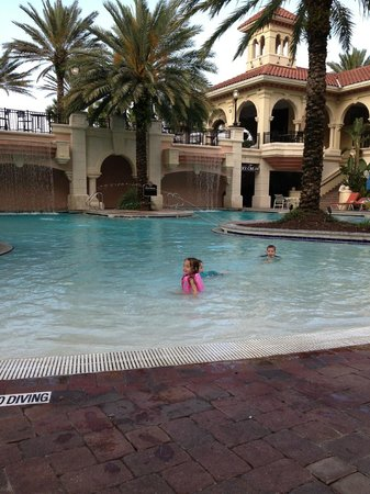The Lodge at Hammock Beach: kid pool- main pool area