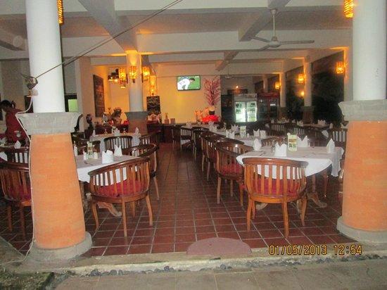 Sativa Sanur Cottages: restaurant/ ontbijt zaal