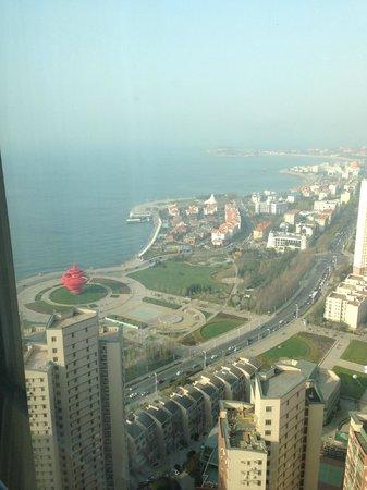 Qingdao Farglory Residence: Qingdao Farglory - Unknown Gem -View from Breakfast