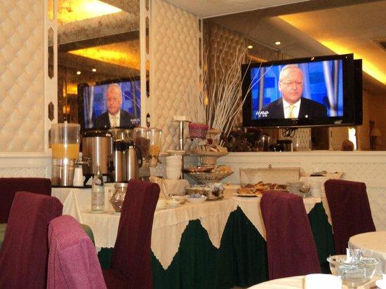 Valle Hotel: buffet petit dej