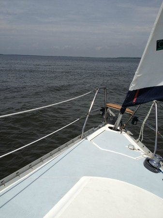 Endless Summer Day Tours: Sailing Southport NC Yacht Basin Approach