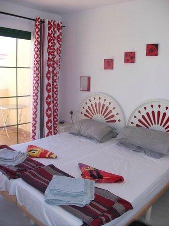 Castillo Mar: Bedroom of apartment 6