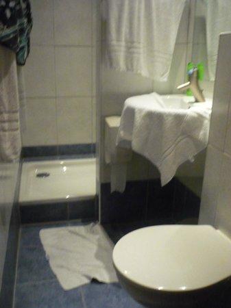 't Wapen van Marion: de douchkamer zeer proper