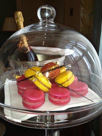 Shangri-La Hotel Paris: welkom