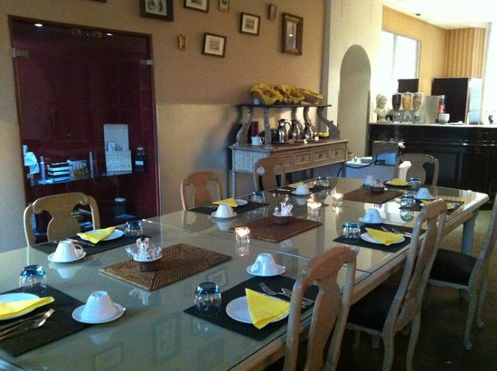 Hotel La Villa Tosca: Villa Tosca sala per la colazione