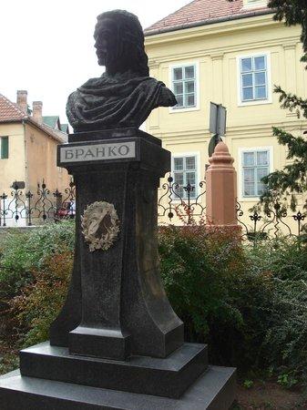 The Grammar School (Gymanzium) : Branko Radičević Monument