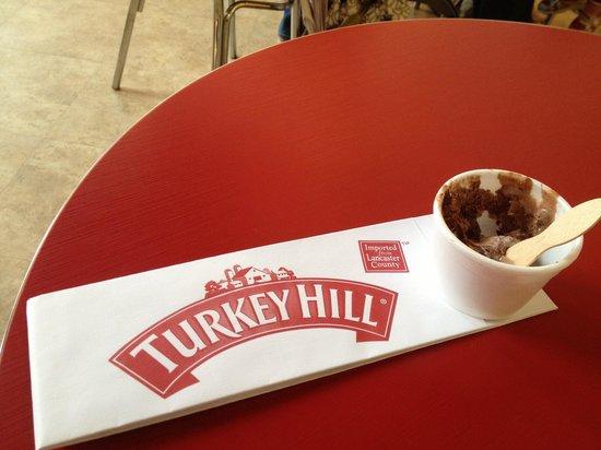 Turkey Hill Experience: Birthday breakfast! (My 52nd birthday, I might add!)