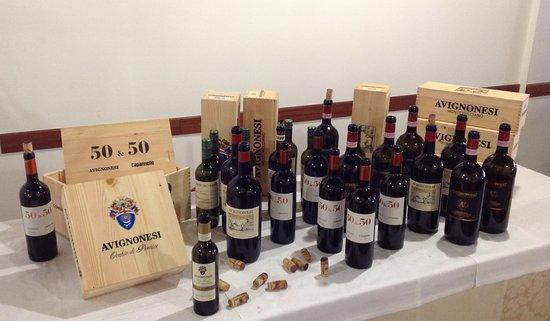 Ristorante DA Tonino: Degustazione Avignonesi