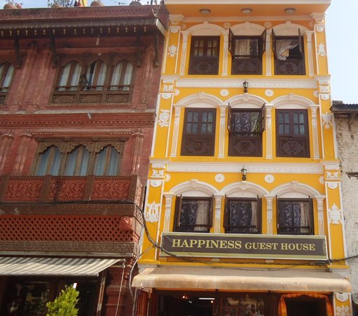 Happiness Guesthouse : Guest house from the stupa round