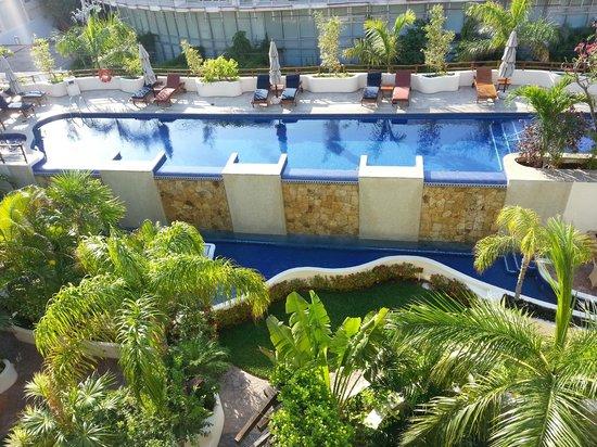 Porto Playa Condo Hotel & Beachclub: View from balacony Unit 220