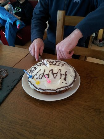 Neilson Chalet Le Lac Blanc 1 : They even made a birthday cake