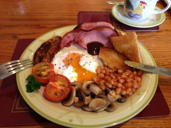 Oak Farm Barn: fabulous breakfast