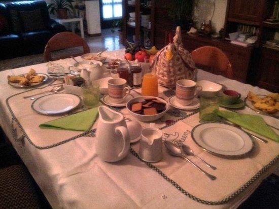 Olivetto Green: Colazione