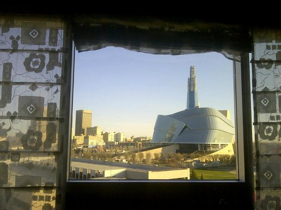 Inn at the Forks : room with a view