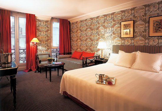 Hotel Villa d'Estrees : deluxe suite