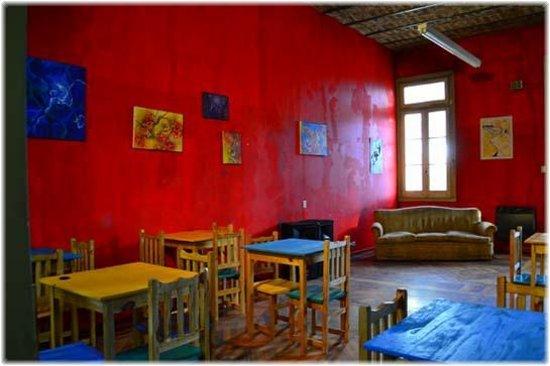 Buenos Artes Hostel: Living
