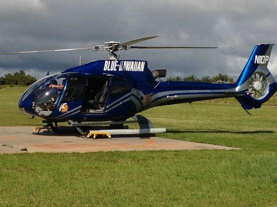 Blue Hawaiian Helicopters - Kauai: Blue Hawaiian