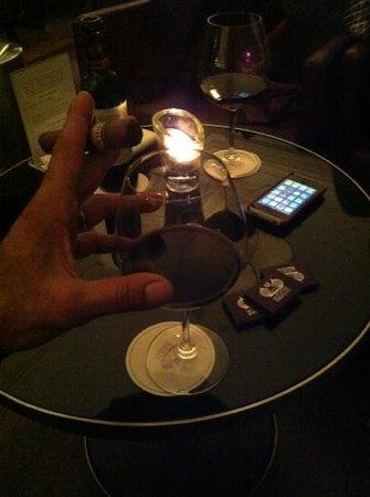 Lausanne Palace & Spa: j'aime y savourer un Cohiba et un un grand cru en toute simplicité !