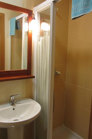 Hostal Tirso Plaza : The shower