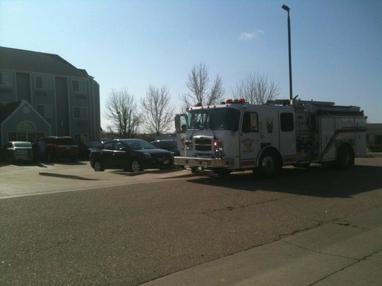 Days Inn Greeley : Prompt response from the fire department.