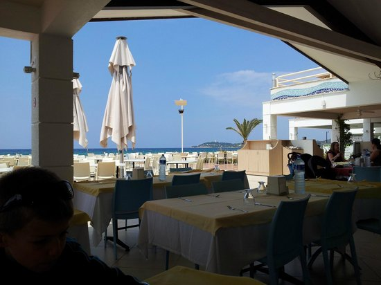 Ephesia Holiday Beach Club: Vue du restaurant Sunset