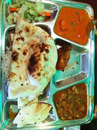 Maison Indian Curry House: Poulet au curry
