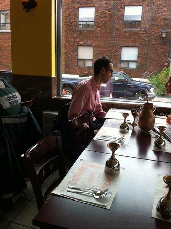 Maison Indian Curry House: Type de table