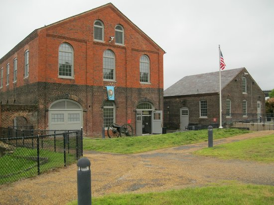 American Civil War Center at Historic Tredegar: view from the top, where the self-guided tour is