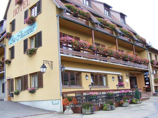 Hotel Spa et Restaurant au Chasseur: Vue de l'hôtel