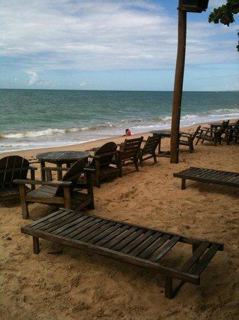 Pousada Estacao Santa Fe: Praia do Araçaipe ( que está a pousada)