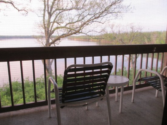 Deer Creek Lodge and Conference Center : Balcony off the room