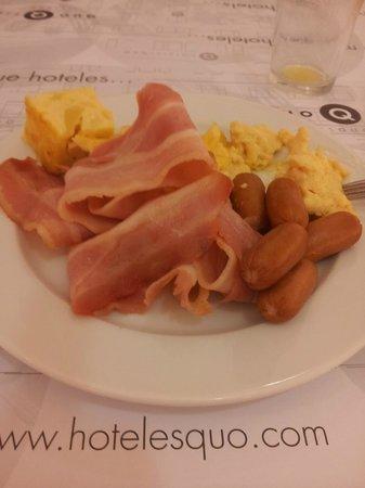 Quo Fierro: Desayuno