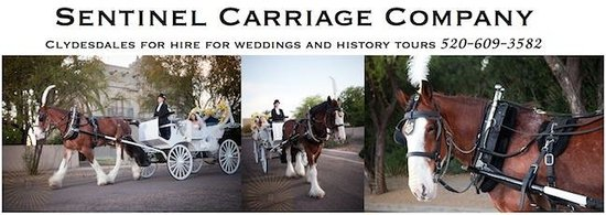Sentinel Carriage Company: *Tucson Weddings* visit our website for more information