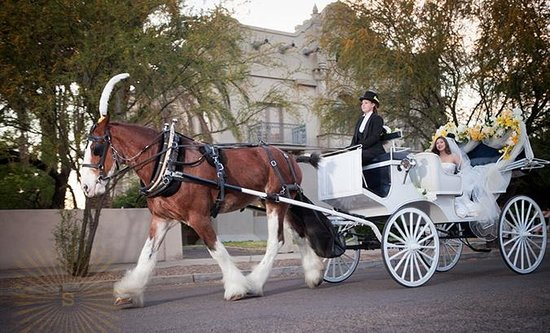 Sentinel Carriage Company: *Tucson Weddings* call for more information