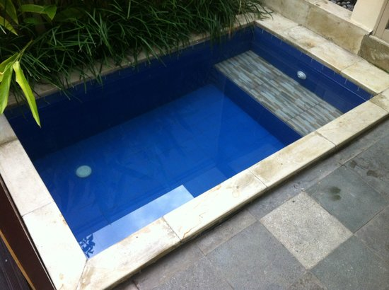 Best Western Kuta Villa: Plunge pool (juste assez pour deux personnes)