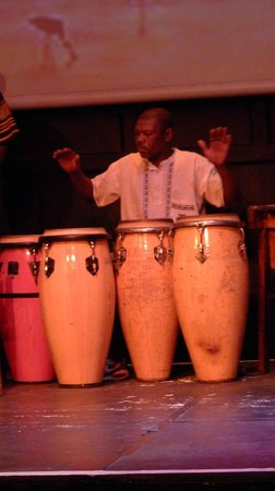 The African Dance Theatre: local instrument