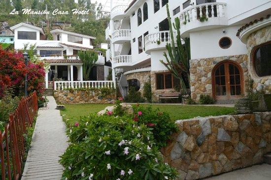 foto de la mansion casa hotel andahuaylas garaje del