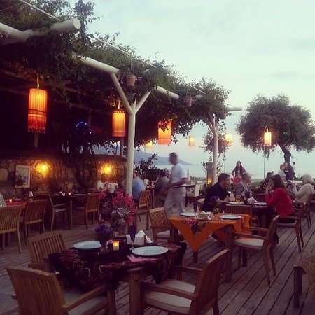 Oyster Residence Restaurant: sea view