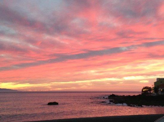 Playa Calera: Sonnenuntergang