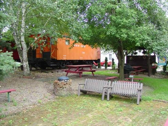 Catawissa Lodge Caboose: New Haven Caboose